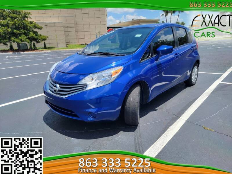 2015 Nissan Versa Note for sale at Exxact Cars in Lakeland FL