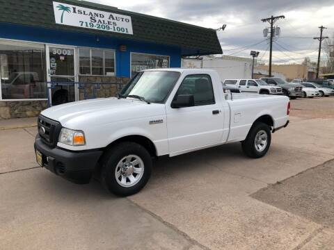 2011 Ford Ranger for sale at Island Auto Sales in Colorado Springs CO