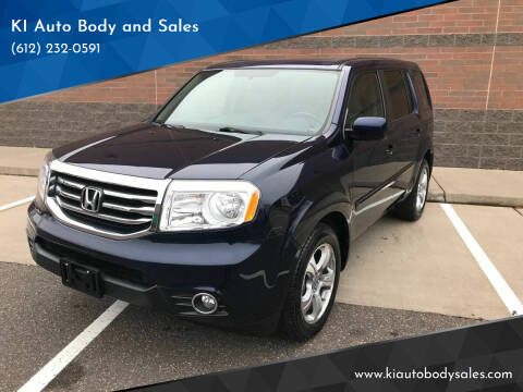 2015 Honda Pilot for sale at KI Auto Body and Sales in Lino Lakes MN