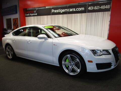 2012 Audi A7 for sale at Prestige Motorcars in Warwick RI