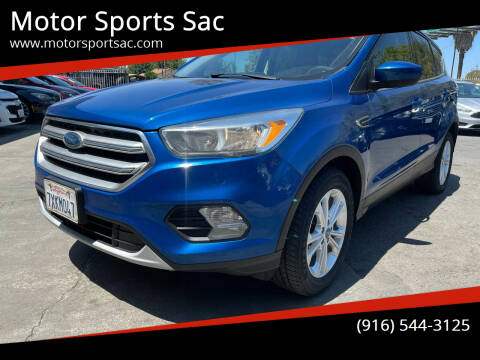 2017 Ford Escape for sale at Motor Sports Sac in Sacramento CA