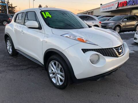 2014 Nissan JUKE for sale at I-80 Auto Sales in Hazel Crest IL