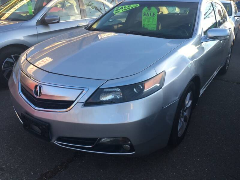 2013 Acura TL for sale at MELILLO MOTORS INC in North Haven CT