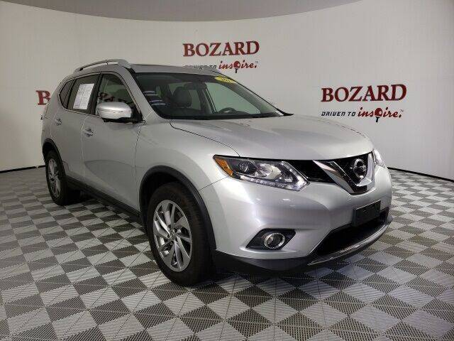 2015 Nissan Rogue for sale at BOZARD FORD in Saint Augustine FL