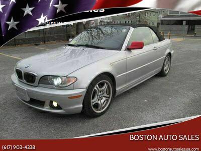 2004 BMW 3 Series for sale at Boston Auto Sales in Brighton MA