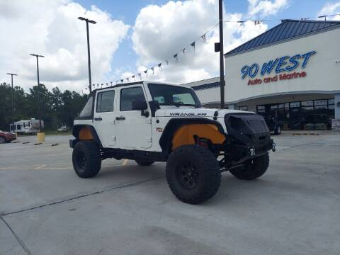 2008 Jeep Wrangler Unlimited for sale at 90 West Auto & Marine Inc in Mobile AL