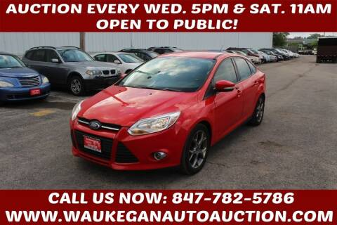 2014 Ford Focus for sale at Waukegan Auto Auction in Waukegan IL