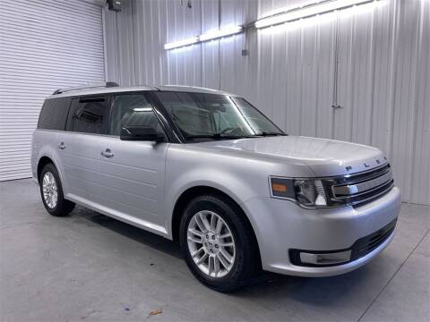 2018 Ford Flex for sale at JOE BULLARD USED CARS in Mobile AL