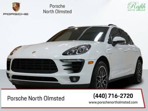 2018 Porsche Macan for sale at Porsche North Olmsted in North Olmsted OH