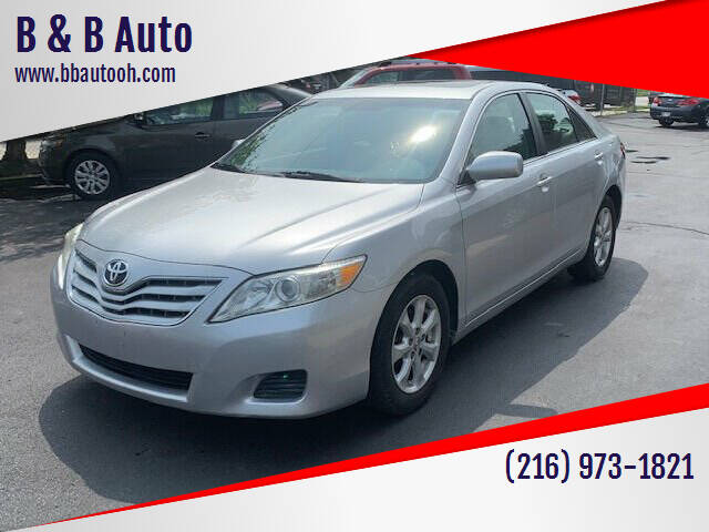 2010 Toyota Camry for sale at B & B Auto in Cleveland OH
