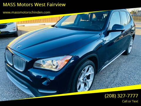 2013 BMW X1 for sale at MASS Motors West Fairview in Boise ID