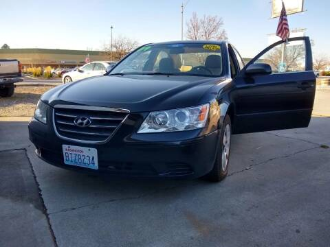 2009 Hyundai Sonata for sale at Horne's Auto Sales in Richland WA