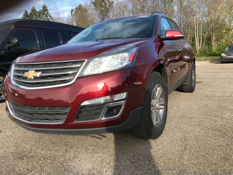 2017 Chevrolet Traverse for sale at Certified Motors LLC in Mableton GA