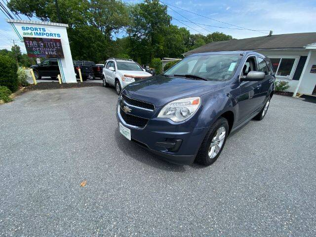 2014 Chevrolet Equinox for sale at Sports & Imports in Pasadena MD