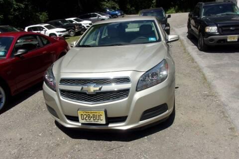 2013 Chevrolet Malibu for sale at Dave Franek Automotive in Wantage NJ