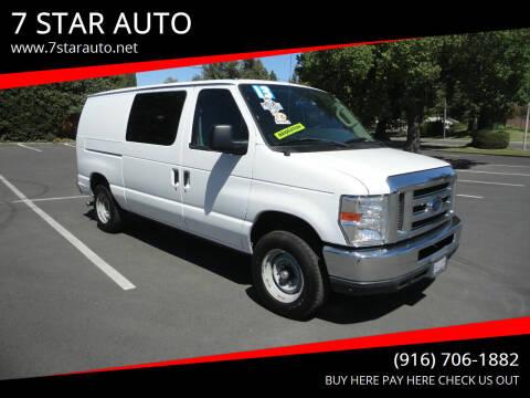 2013 Ford E-Series Cargo for sale at 7 STAR AUTO in Sacramento CA