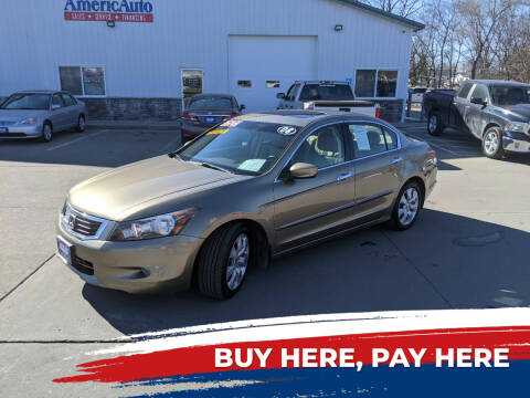 2008 Honda Accord for sale at AmericAuto in Des Moines IA