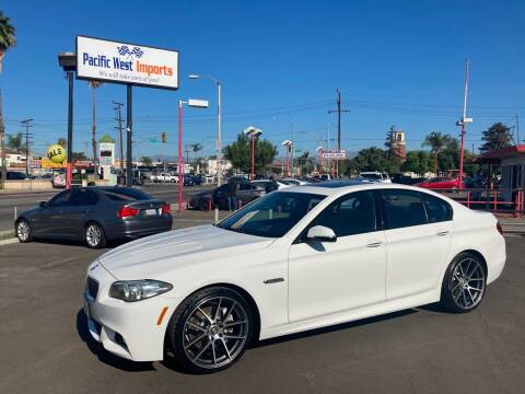 2014 BMW 5 Series for sale at Pacific West Imports in Los Angeles CA