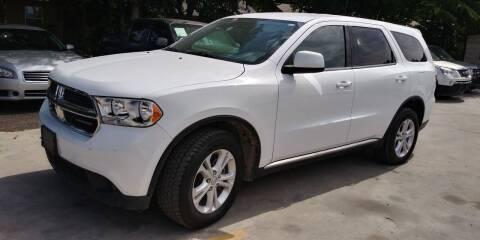 2013 Dodge Durango for sale at AUTOTEX FINANCIAL in San Antonio TX