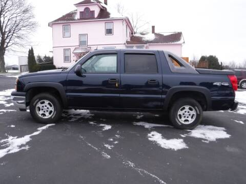 2005 Chevrolet Avalanche for sale at Vicki Brouwer Autos Inc. in North Rose NY