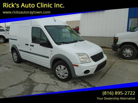 2012 Ford Transit Connect for sale at Rick's Auto Clinic Inc. in Raytown MO