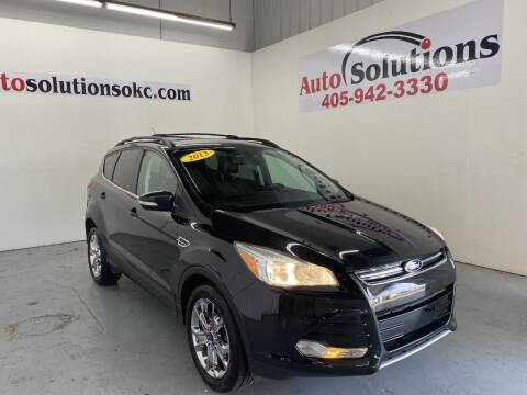 2013 Ford Escape for sale at Auto Solutions in Warr Acres OK