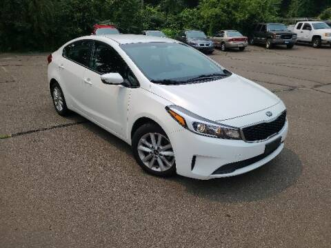 2017 Kia Forte for sale at BETTER BUYS AUTO INC in East Windsor CT