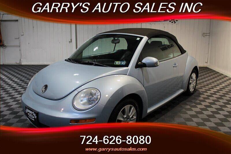 2010 Volkswagen New Beetle Convertible for sale in Dunbar, PA