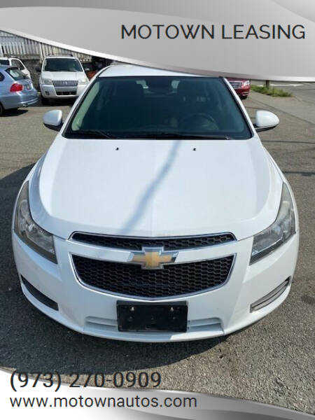 2013 Chevrolet Cruze for sale at Motown Leasing in Morristown NJ