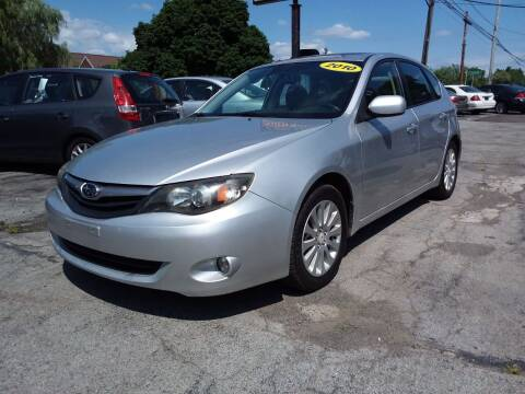 2010 Subaru Impreza for sale at Peter Kay Auto Sales in Alden NY