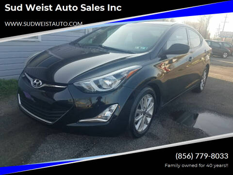 2015 Hyundai Elantra for sale at Sud Weist Auto Sales Inc in Maple Shade NJ