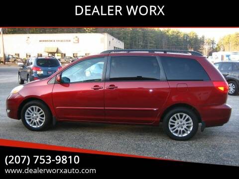 2010 Toyota Sienna for sale at DEALER WORX in Auburn ME