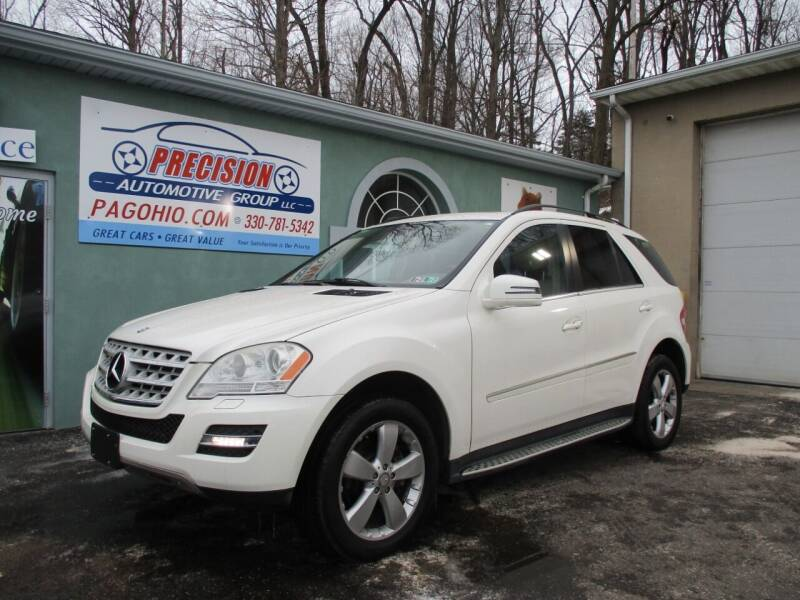 2011 Mercedes-Benz M-Class for sale at Precision Automotive Group in Youngstown OH