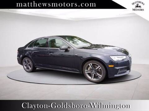 2018 Audi A4 for sale at Auto Finance of Raleigh in Raleigh NC