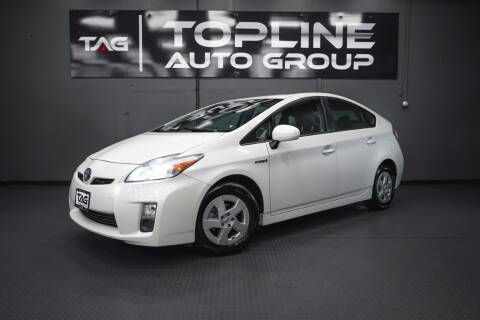 2010 Toyota Prius for sale at TOPLINE AUTO GROUP in Kent WA