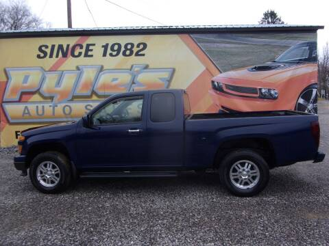 2012 Chevrolet Colorado for sale at Pyles Auto Sales in Kittanning PA
