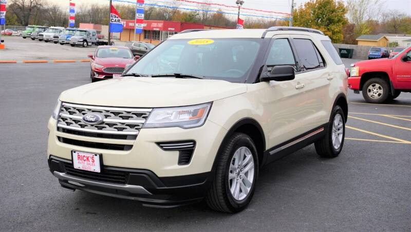 2018 Ford Explorer for sale at Ricks Auto Sales, Inc. in Kenton OH