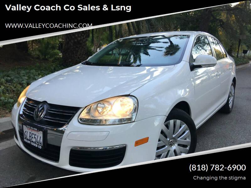 2010 Volkswagen Jetta for sale at Valley Coach Co Sales & Lsng in Van Nuys CA