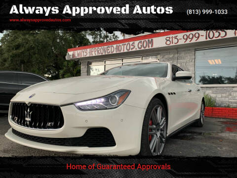 2017 Maserati Ghibli for sale at Always Approved Autos in Tampa FL