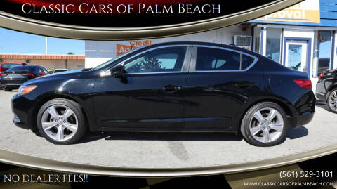 2014 Acura ILX for sale at Classic Cars of Palm Beach in Jupiter FL