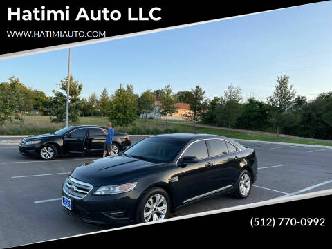 2011 Ford Taurus for sale at Hatimi Auto LLC in Buda TX