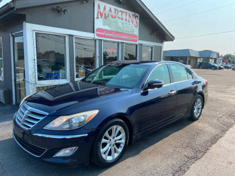 2012 Hyundai Genesis for sale at Martins Auto Sales in Shelbyville KY