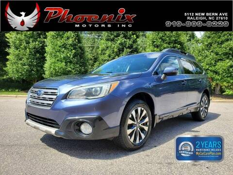 2015 Subaru Outback for sale at Phoenix Motors Inc in Raleigh NC