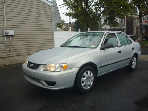 2001 Toyota Corolla for sale at Pinto Automotive Group in Trenton NJ