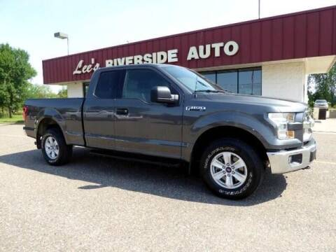 2016 Ford F-150 for sale at Lee's Riverside Auto in Elk River MN