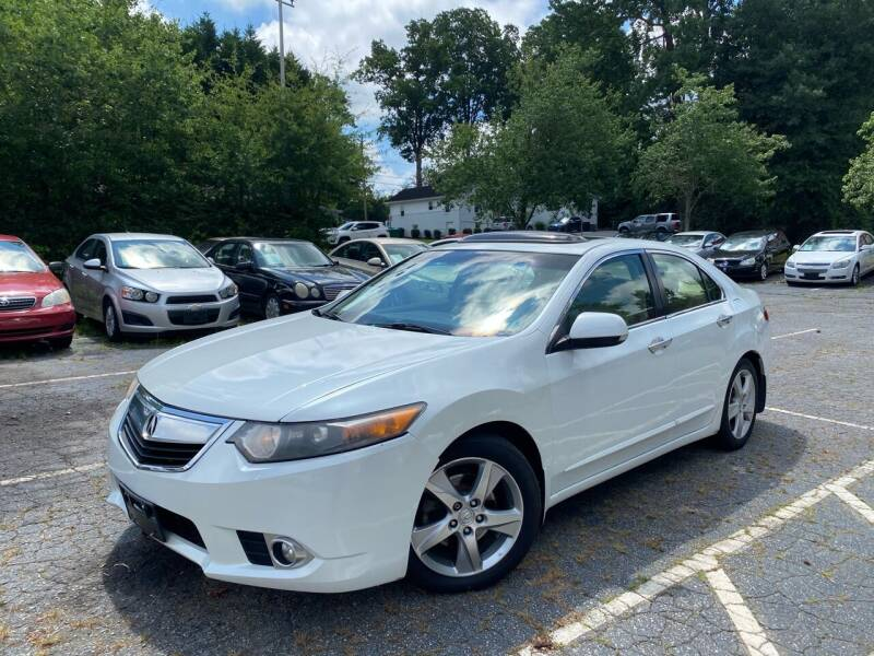 2012 Acura TSX for sale at Car Online in Roswell GA