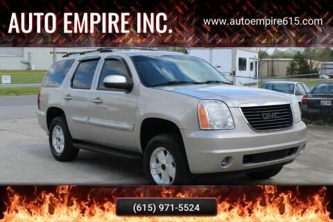 2007 GMC Yukon for sale at Auto Empire Inc. in Murfreesboro TN