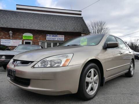 2003 Honda Accord for sale at P&D Sales in Rockaway NJ