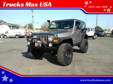 2004 Jeep Wrangler for sale at Trucks Max USA in Manteca CA