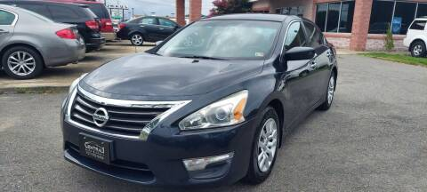2014 Nissan Altima for sale at Central 1 Auto Brokers in Virginia Beach VA